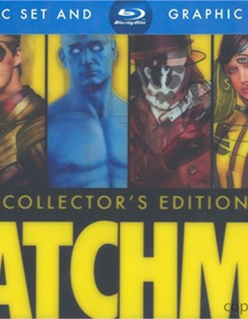 Watchmen: Ultimate Cut + Graphic Novel