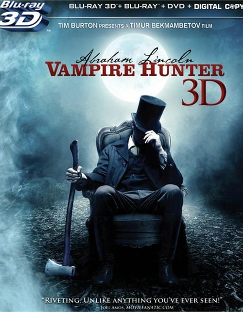 Abraham Lincoln: Vampire Hunter 3D (Blu-ray 3D + Blu-ray + DVD + Digital Copy)