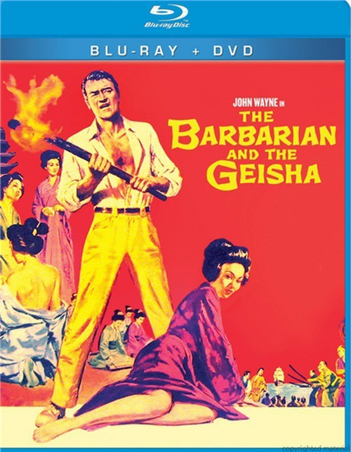 Barbarian And The Geisha, The (Blu-ray + DVD Combo)