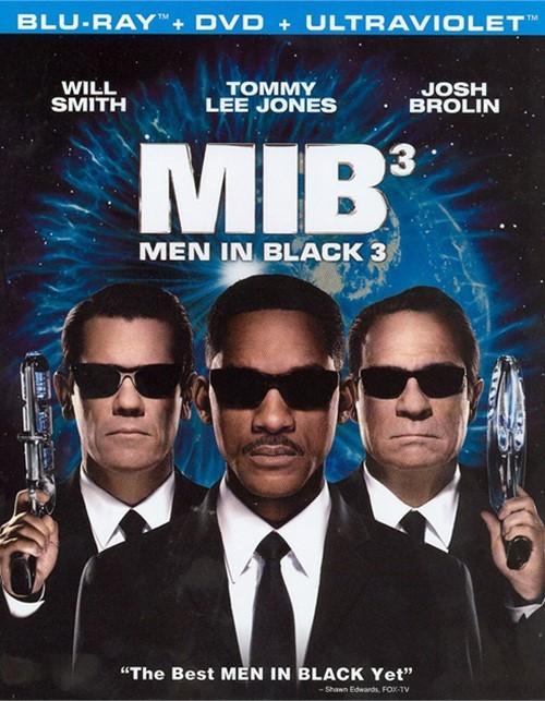 Men In Black 3 (Blu-ray + DVD + UltraViolet)