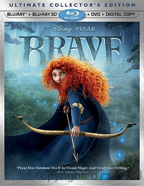 Brave 3D (Blu-ray 3D + Blu-ray + DVD + Digital Copy)