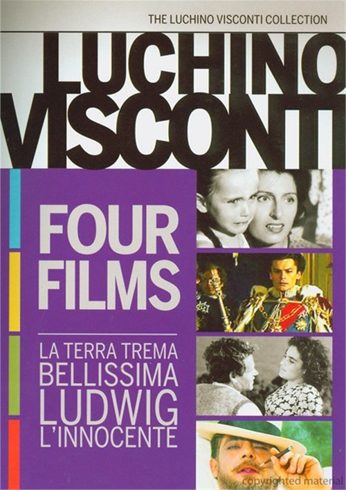 Luchino Visconti: Four Film Collection