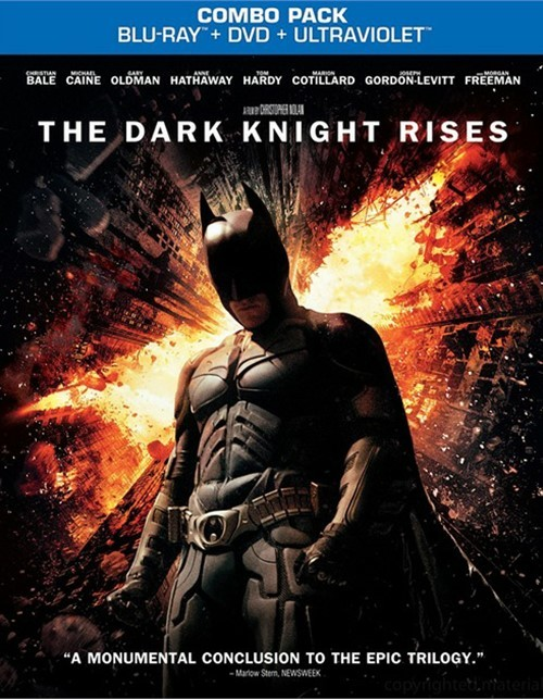 Dark Knight Rises, The (Blu-ray + DVD + UltraViolet)