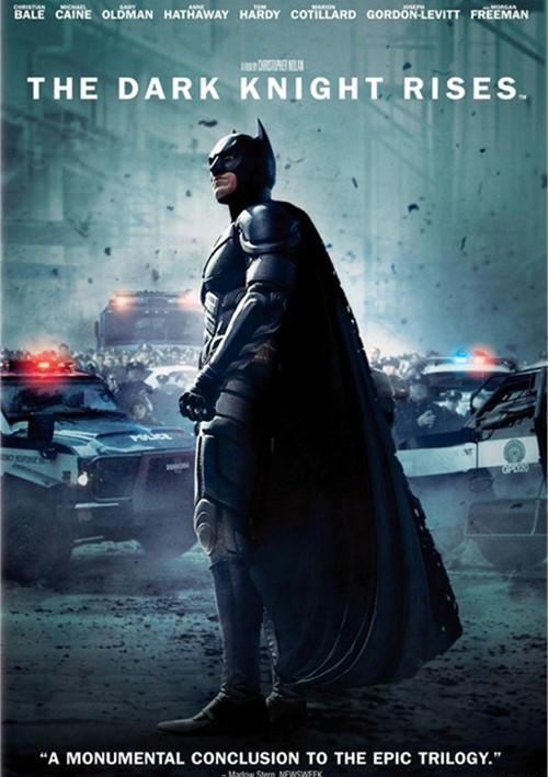 Dark Knight Rises, The (DVD + UltraViolet)