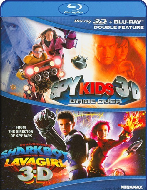Spy Kids 3D / The Adventures Of Sharkboy And Lavagirl 3D (Double Feature)