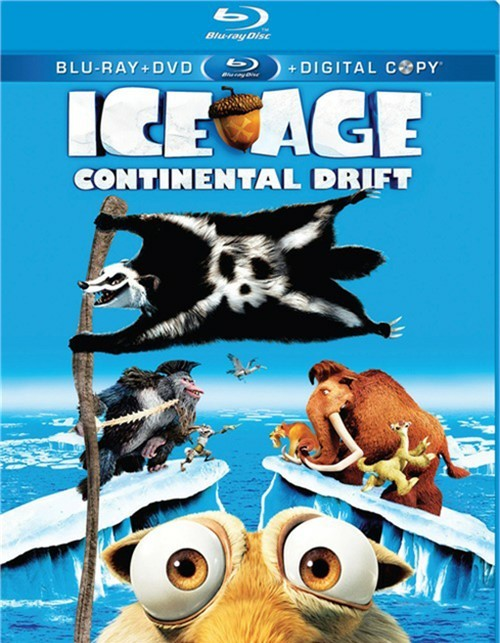 Ice Age: Continental Drift (Blu-ray + DVD + Digital Copy)