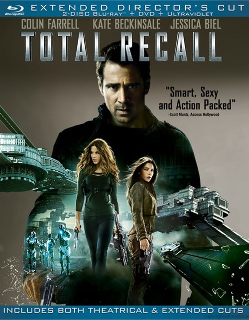 Total Recall: Extended Directors Cut (Blu-ray + DVD + UltraViolet)