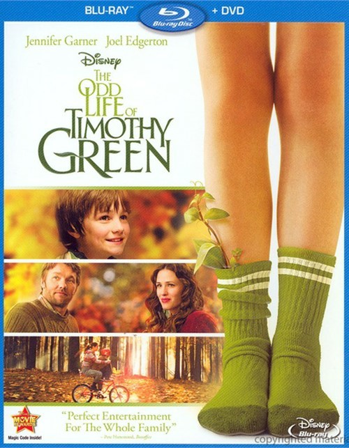 Odd Life Of Timothy Green, The (Blu-ray + DVD Combo)