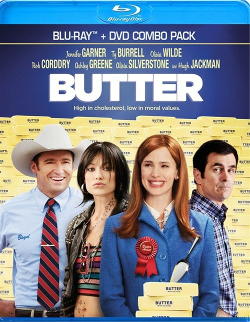 Butter (Blu-ray + DVD Combo)