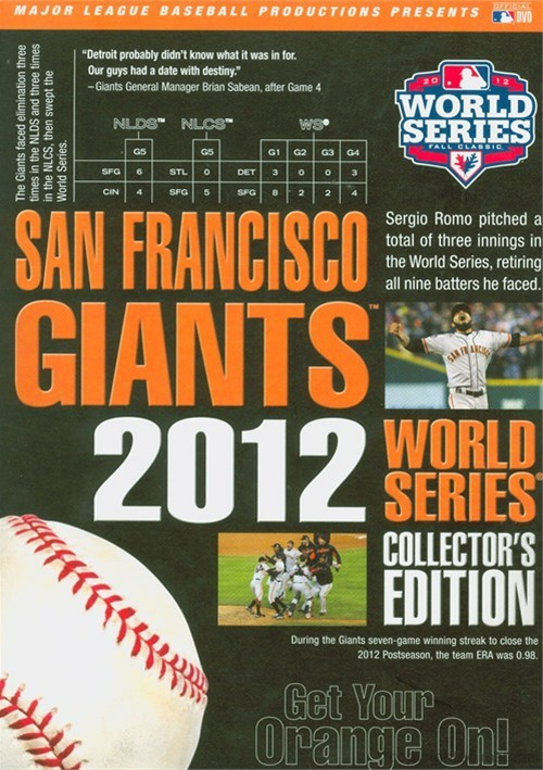 San Francisco Giants 2012 World Series, The: Collectors Edition