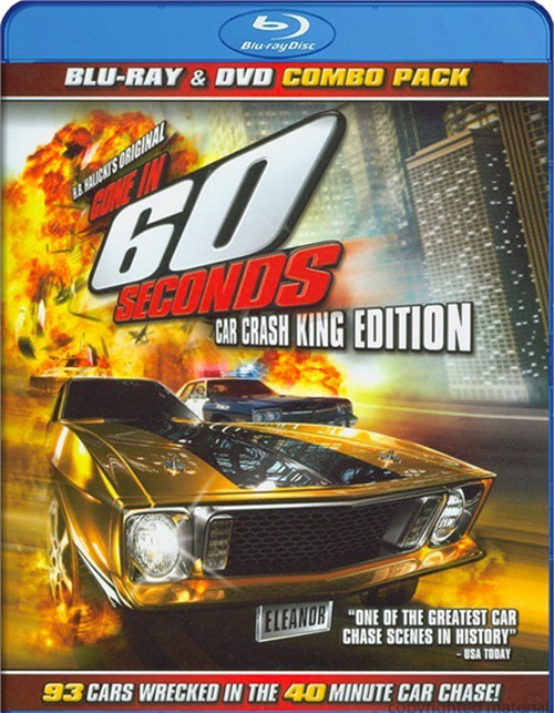 Gone In 60 Seconds (Blu-ray + DVD Combo)