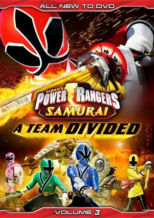 Power Rangers Samurai Vol. 3: A Team Divided