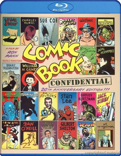 Comic Book Confidential: 20th Anniversary Edition