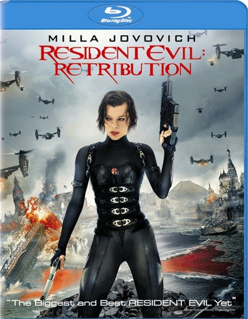 Resident Evil: Retribution (Blu-ray + UltraViolet)