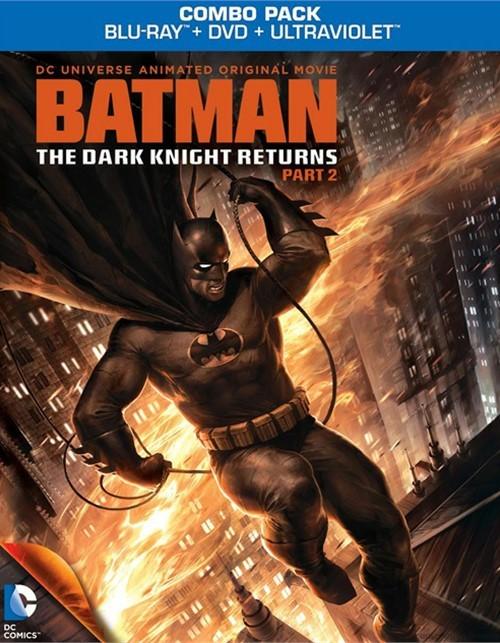 Batman: The Dark Knight Returns - Part 2 (Blu-ray + DVD Combo)