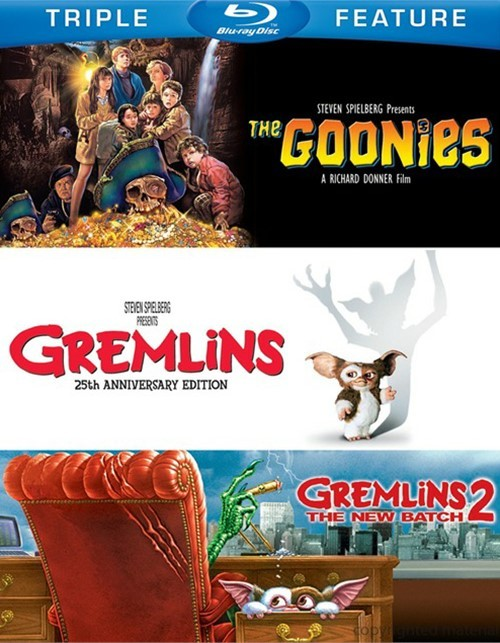 Goonies, The / Gremlins / Gremlins 2: The New Batch (Triple Feature)