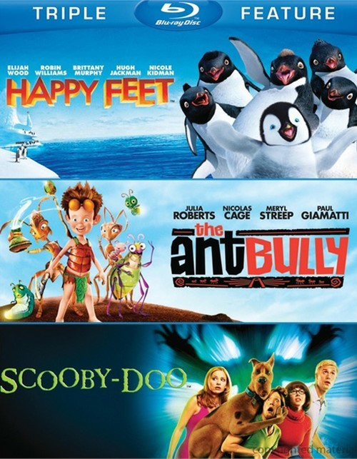 Happy Feet / The Ant Bully / Scooby-Doo: The Movie (Triple Feature)