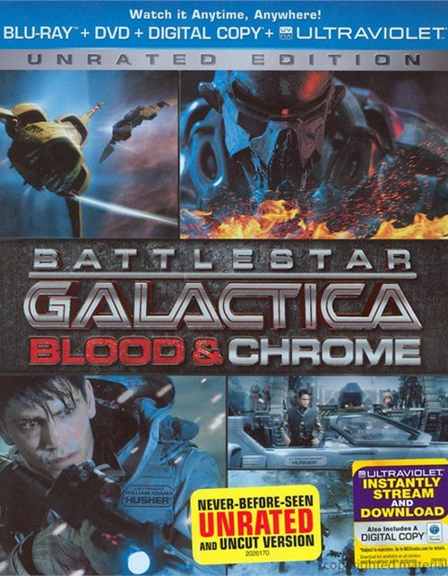 Battlestar Galactica: Blood & Chrome (Blu-ray + DVD + Digital Copy + UltraViolet)