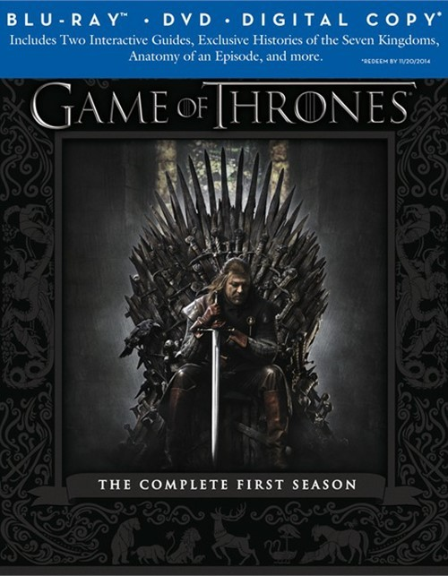Game Of Thrones: The Complete First Season (Blu-ray + DVD + Digital Copy)