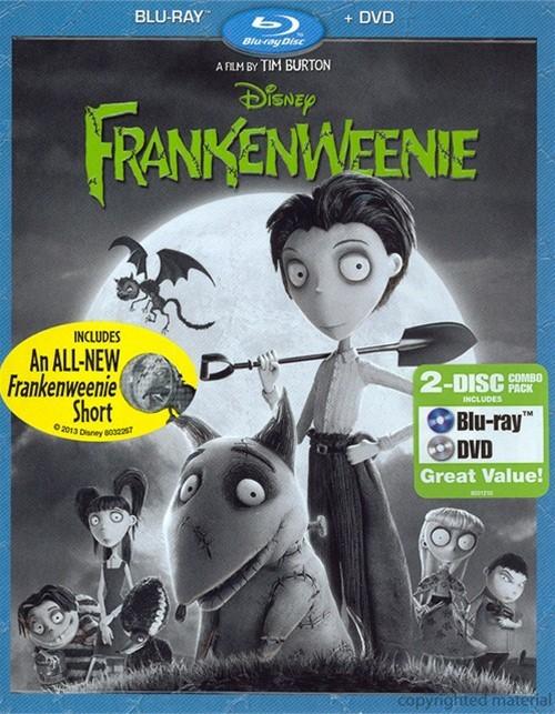 Frankenweenie (Blu-ray + DVD Combo)