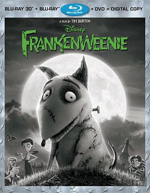 Frankenweenie 3D (Blu-ray 3D + Blu-ray + DVD + Digital Copy)