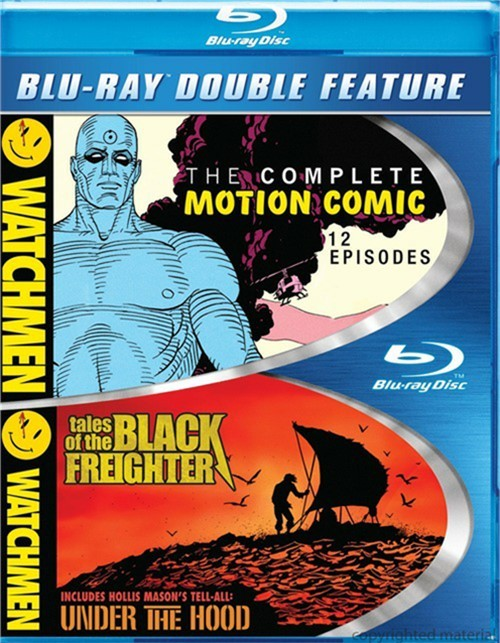 Watchmen: The Complete Motion Comic / Watchmen: Tales Of The Black Freighter & Under The Hood (Double Feature)