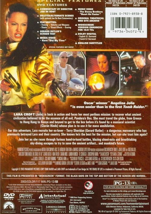 Lara Croft: Tomb Raider - The Cradle Of Life (DVD 2003 ...