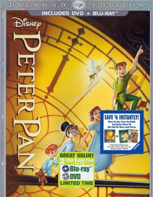 Peter Pan: Diamond Edition (DVD + Blu-ray Combo)