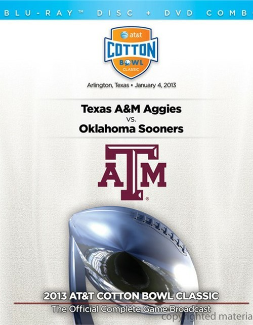 2013 AT&T Cotton Bowl (Blu-ray + DVD Combo)