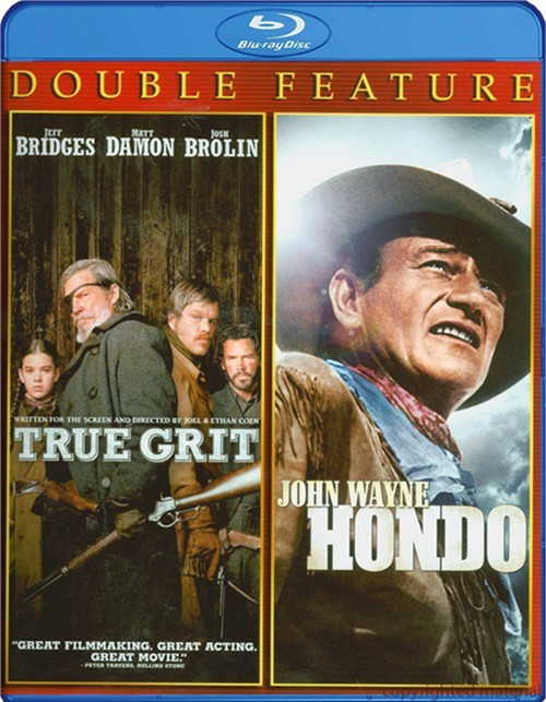 True Grit / Hondo (Double Feature)