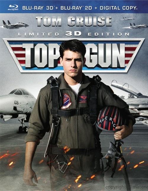 Top Gun 3D (Blu-ray 3D + Blu-ray + Digital Copy + UltraViolet)