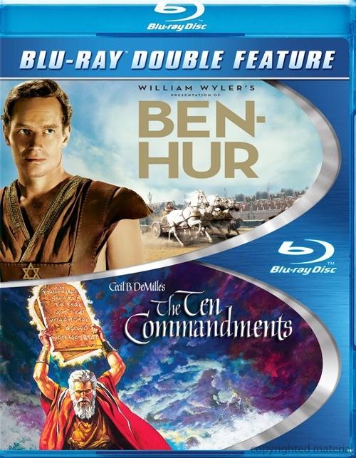 Ben Hur / Ten Commandments (Double Feature)