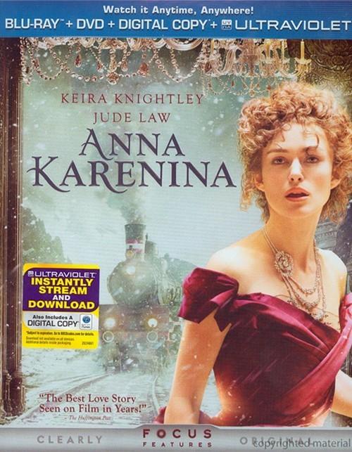 Anna Karenina (Blu-ray + DVD + Digital Copy + UltraViolet)