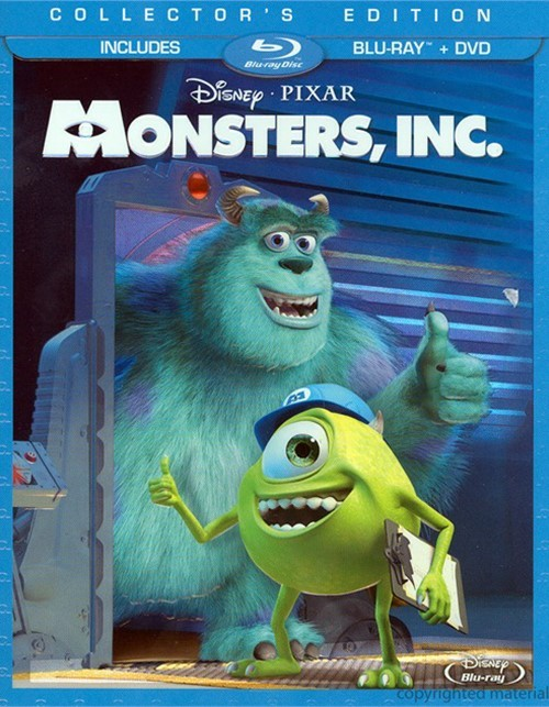Monsters, Inc. (Blu-ray + DVD Combo)