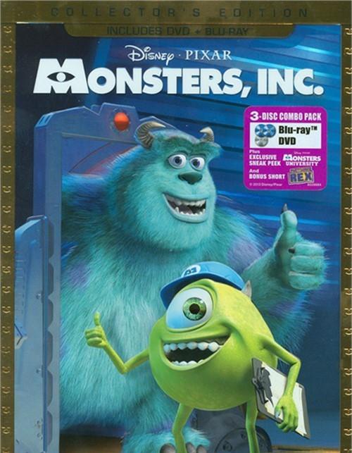 Monsters, Inc. (DVD + Blu-ray Combo)