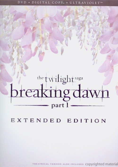 Twilight Saga, The: Breaking Dawn - Part 1 - Extended Edition (DVD + Digital Copy + UltraViolet)