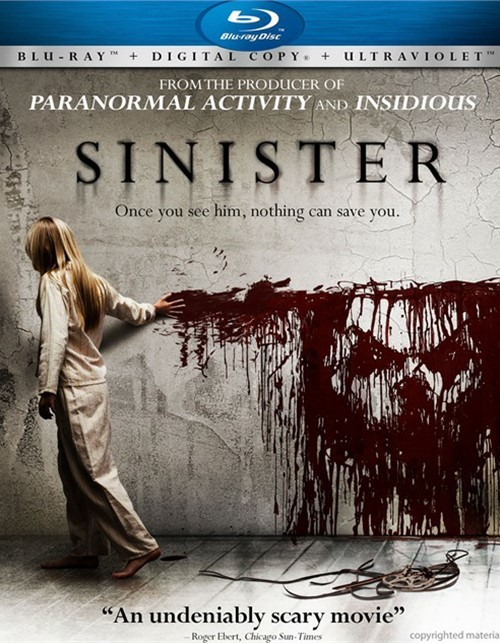 Sinister (Blu-ray + Digital Copy + UltraViolet)