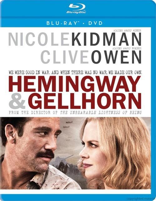 Hemingway & Gellhorn (Blu-ray + DVD Combo)