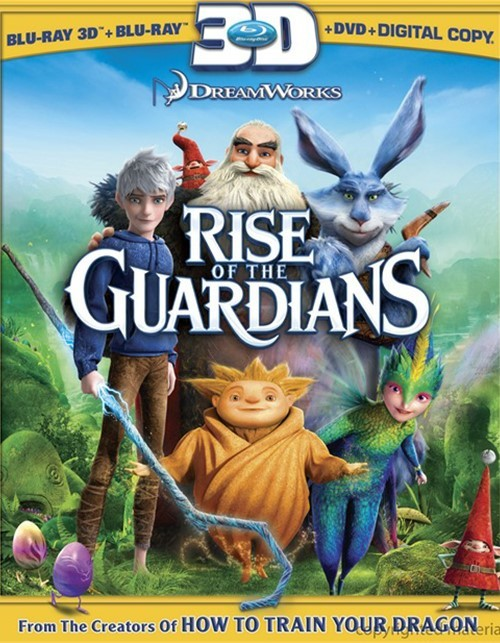 Rise Of The Guardians 3D (Blu-ray 3D + Blu-ray + DVD + Digital Copy + UltraViolet)