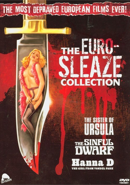 Euro-Sleaze Collection, The (The Sinful Dwarf / The Sister Of Ursula / Hanna D: The Girl From Vondel Park)