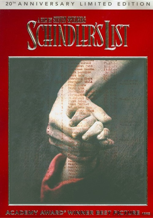 Schindlers List: 20th Anniversary Edition (DVD + Digital Copy + UltraViolet)