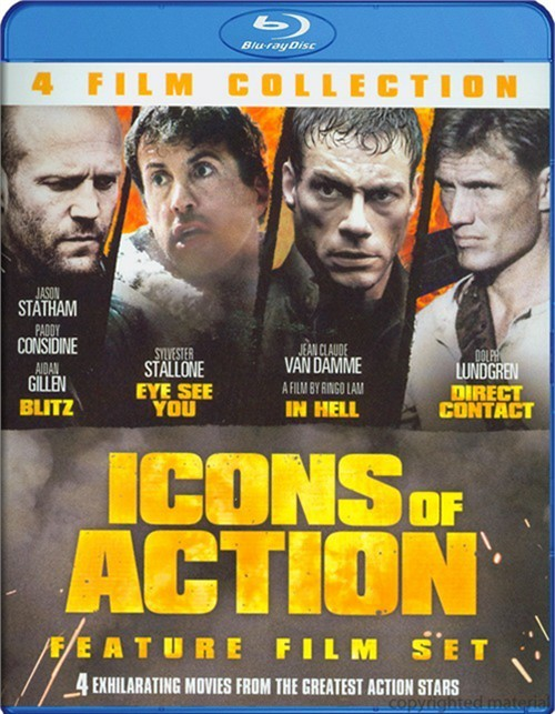 4 Film Icons Of Action Set