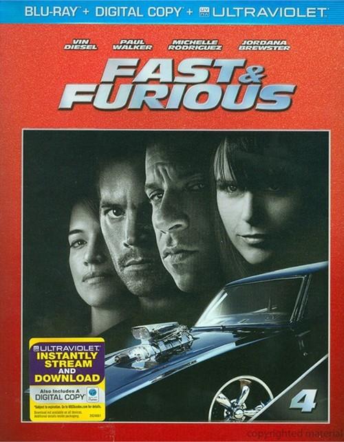 Fast & Furious (Blu-ray + Digital Copy + UltraViolet)