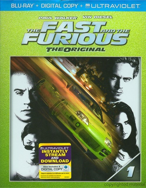 Fast And The Furious, The (Blu-ray + Digital Copy + UltraViolet)
