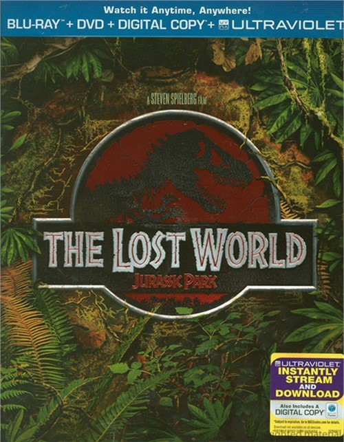 Lost World, The: Jurassic Park (Blu-ray + DVD + Digital Copy + UltraViolet)
