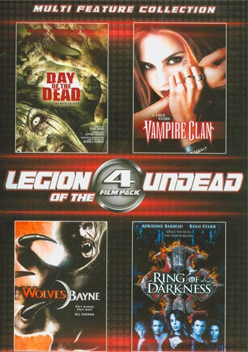 4 Film Pack: Legion Of The Undead
