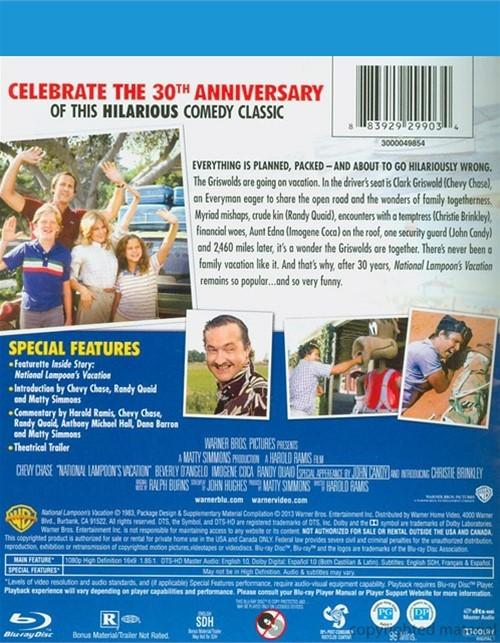 National Lampoon's Vacation: 30th Anniversary (Blu-ray