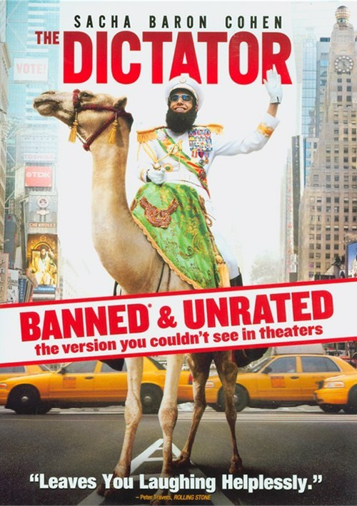 Dictator, The: Banned & Unrated Version (DVD + UltraViolet)