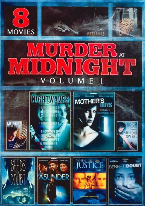 8 Movie Murder At Midnight: Volume One