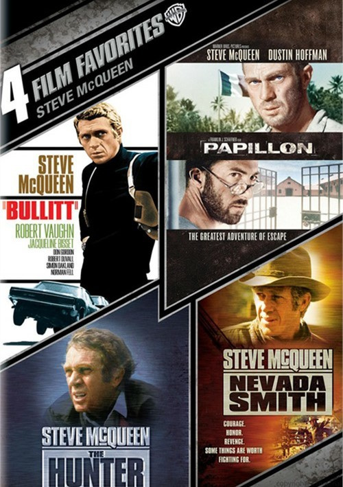 4 Film Favorites: Steve McQueen